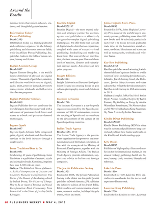 Publishers Weekly May 4 2015 Page 68 69