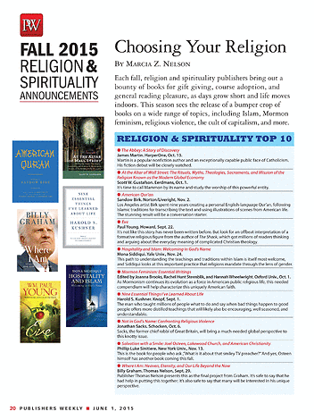 Publishers Weekly - June 1, 2015 - Page 20-21