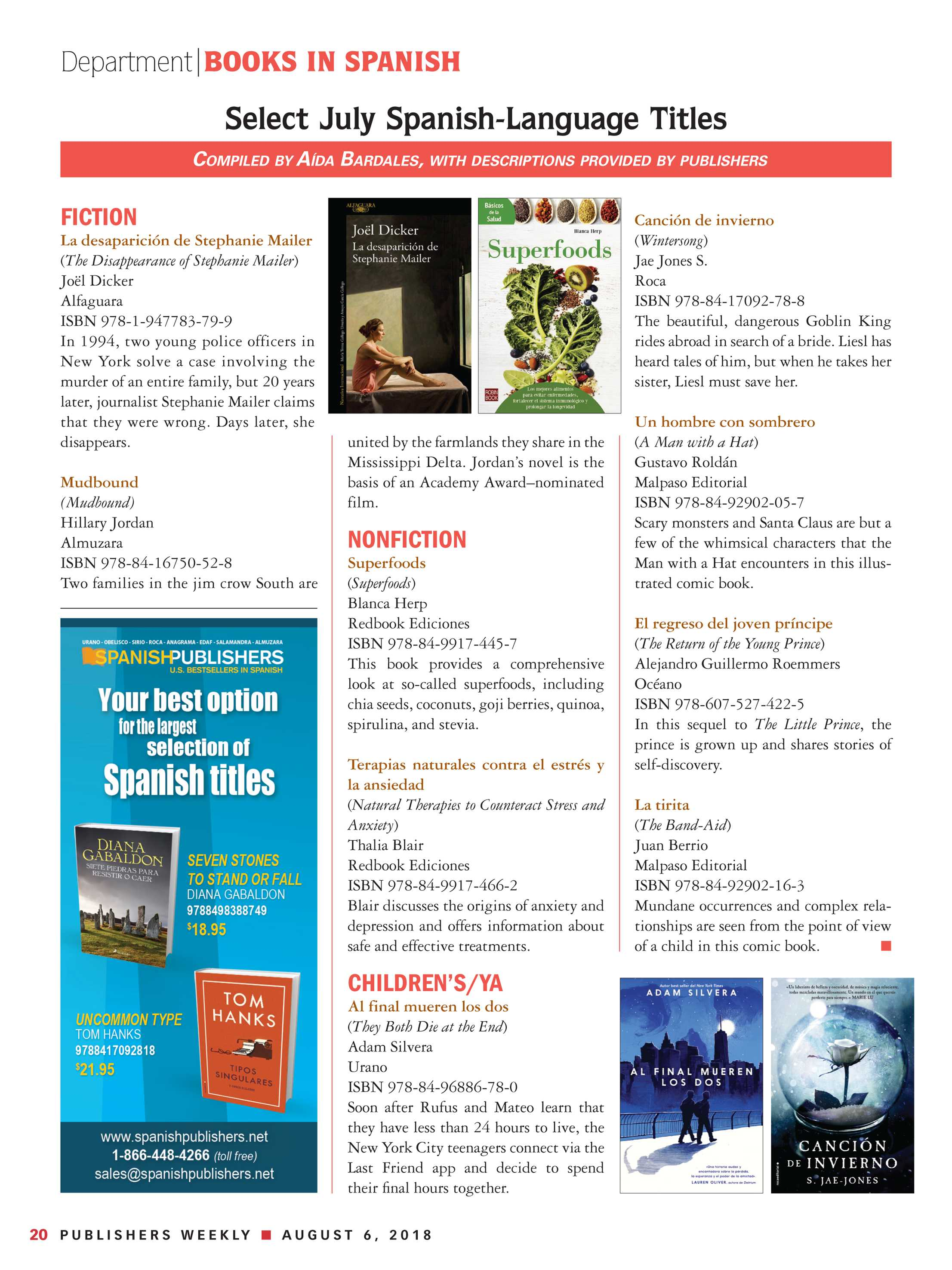 911ecb36a3d05 Publishers Weekly - August 6