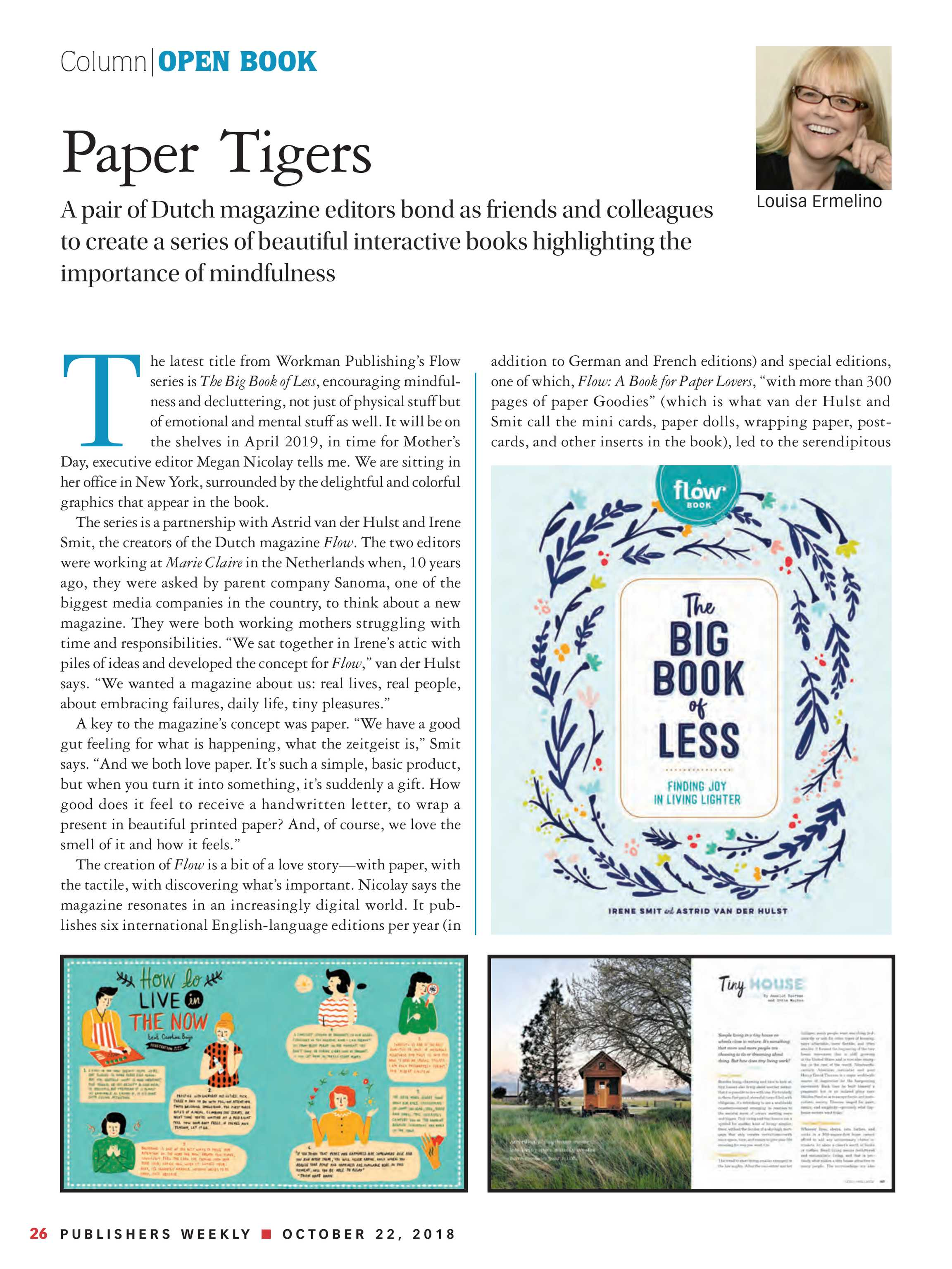 Publishers Weekly - October 22, 2018 - page 26