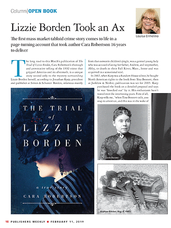 Publishers Weekly - February 11, 2019 - page 18