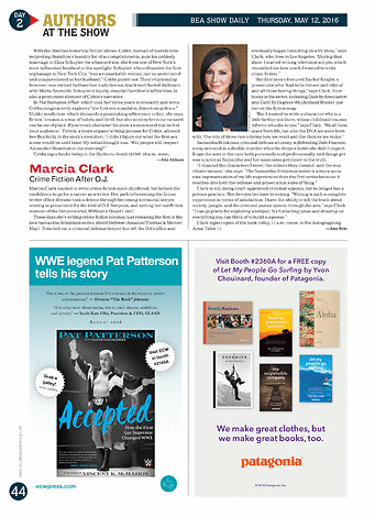Publishers Weekly Bea Show Daily May 12 2016 Page 44 45
