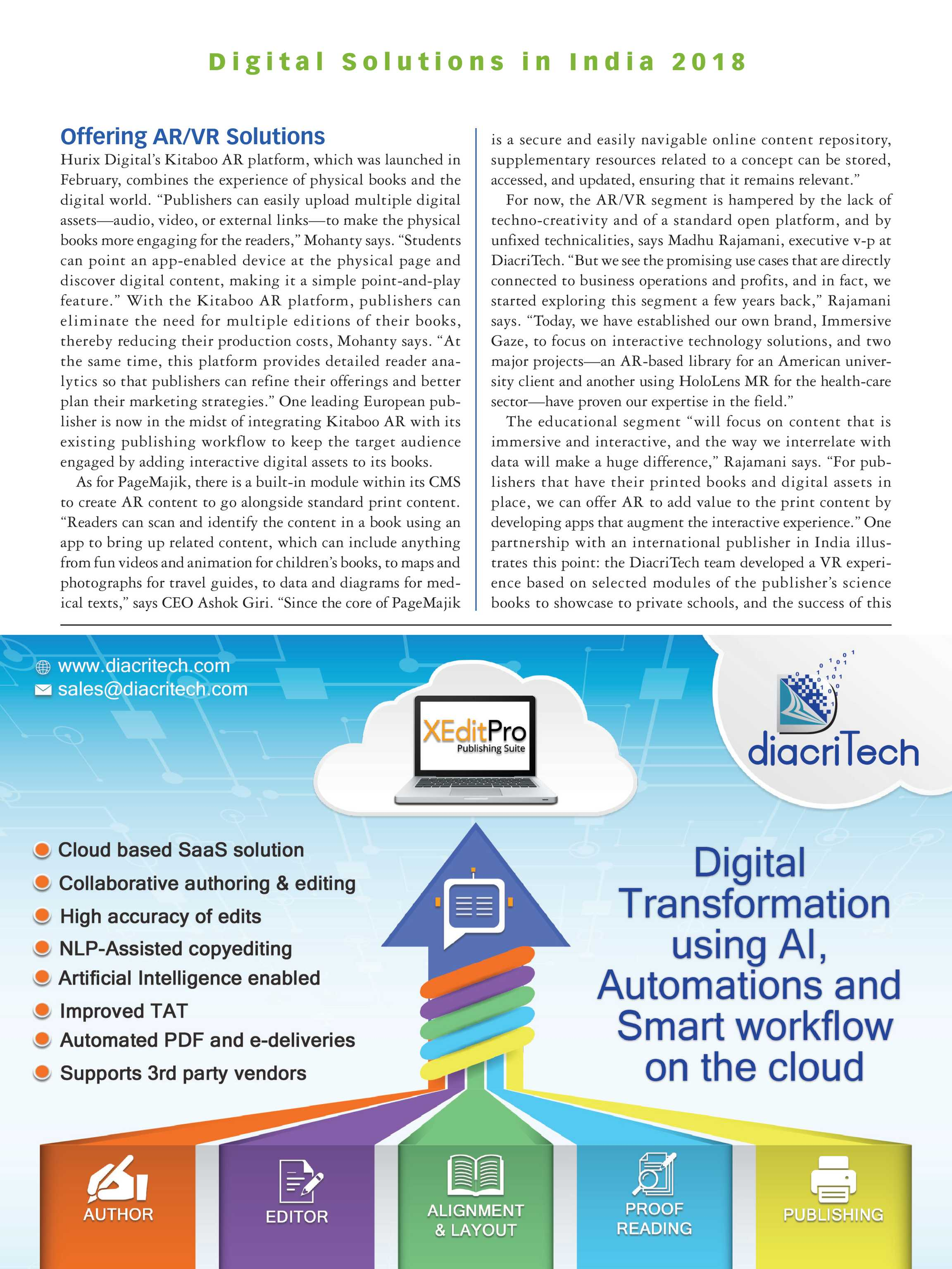 Publishers Weekly - India Supplement 2018 - page 23