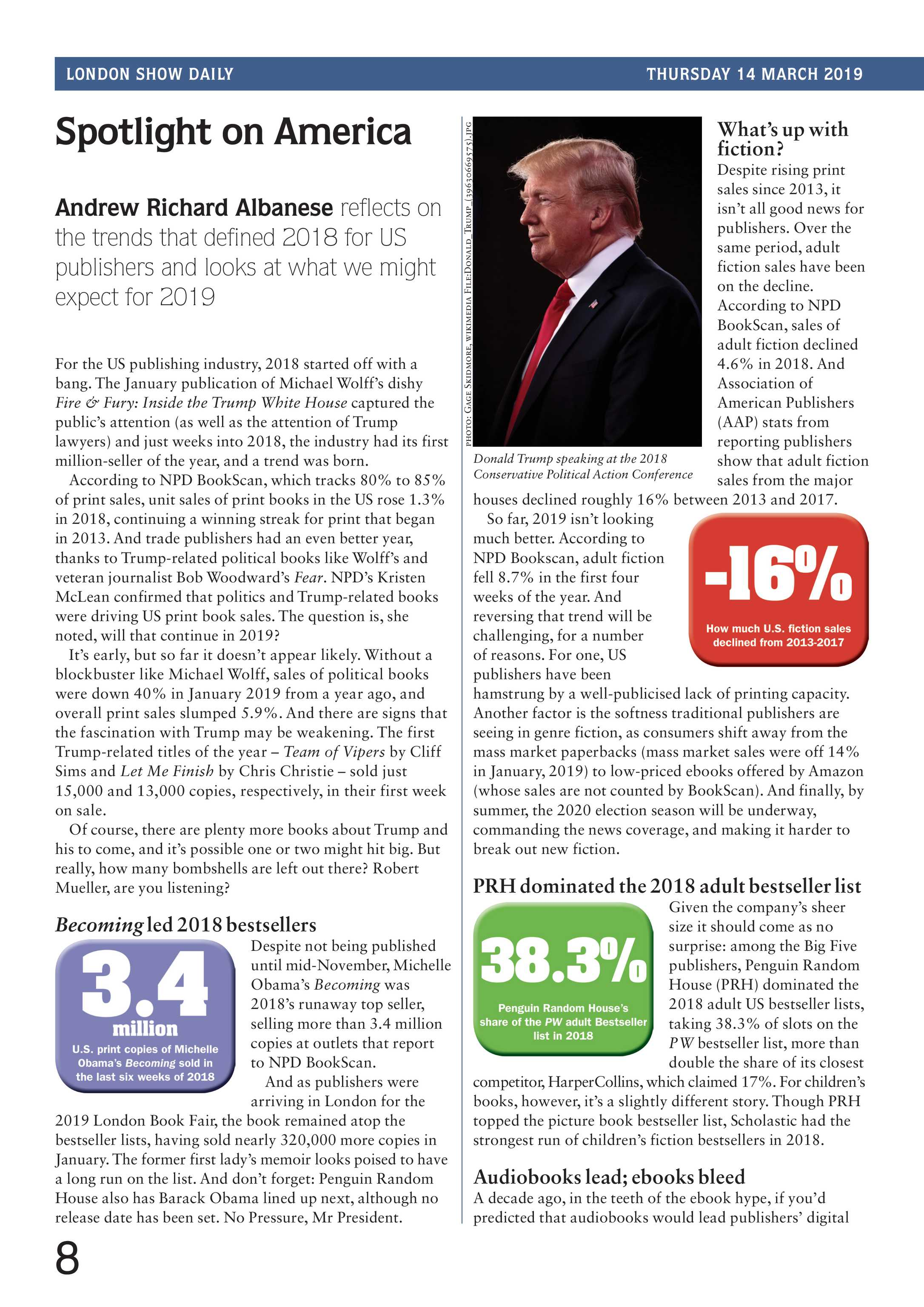 Publishers Weekly - London Show Daily March 14, 2019 - page 8