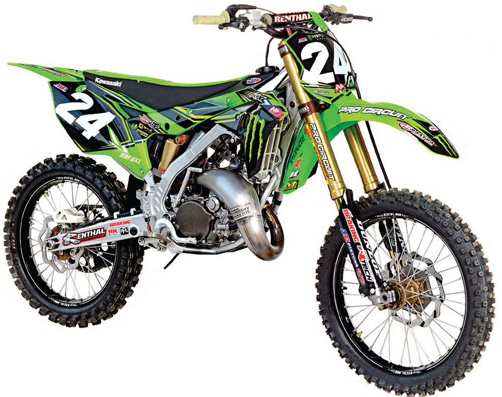 Dirt Bike Magazine - 2-STROKES New and Old - The Green Goblin