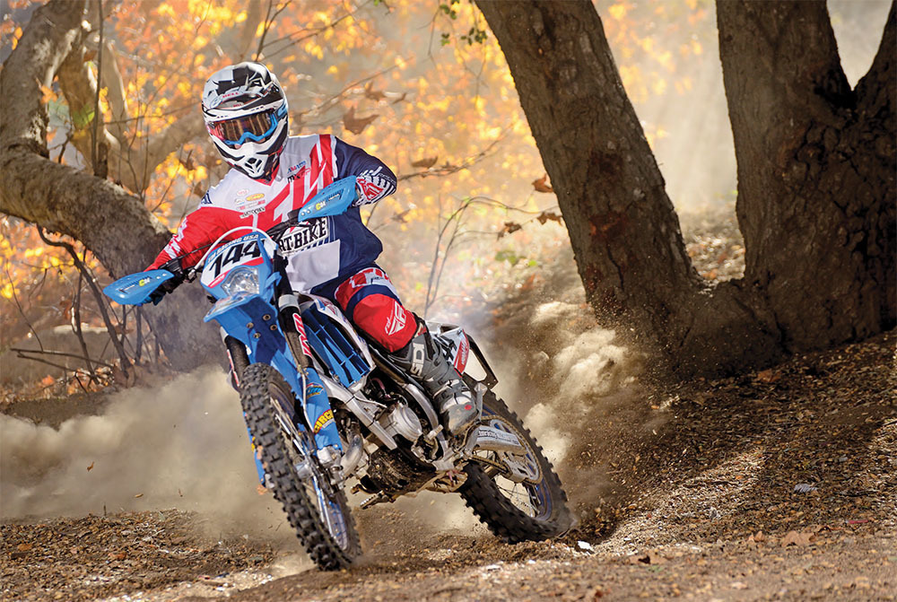 Dirt Bike Magazine - 2-STROKES New and Old - TM Racing 144EN