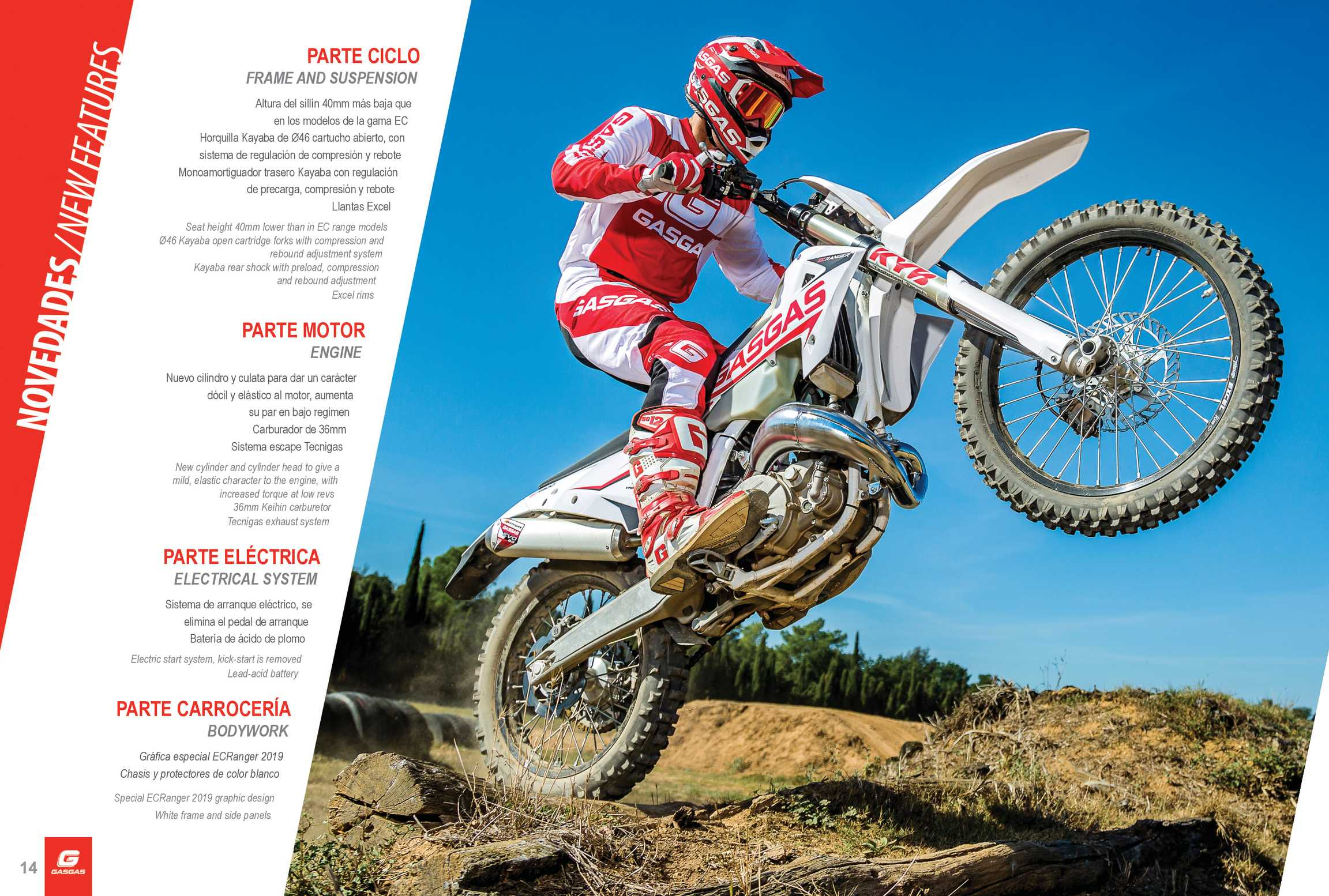 Dirt Bike Magazine - 2019 GASGAS - page 14