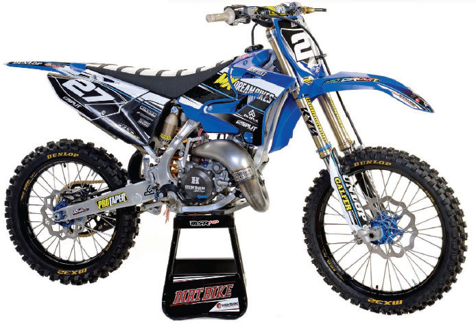 Dirt Bikes Yamaha Yz125 Motor Head Specs Split Designs killed it in the