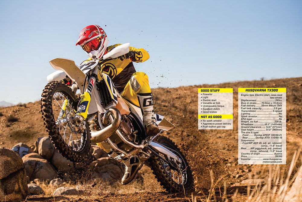 Dirt Bike Magazine - April 2018 - Husqvarna TX300
