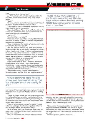 Dirt Bike Magazine - August 2015 - Page 8-9