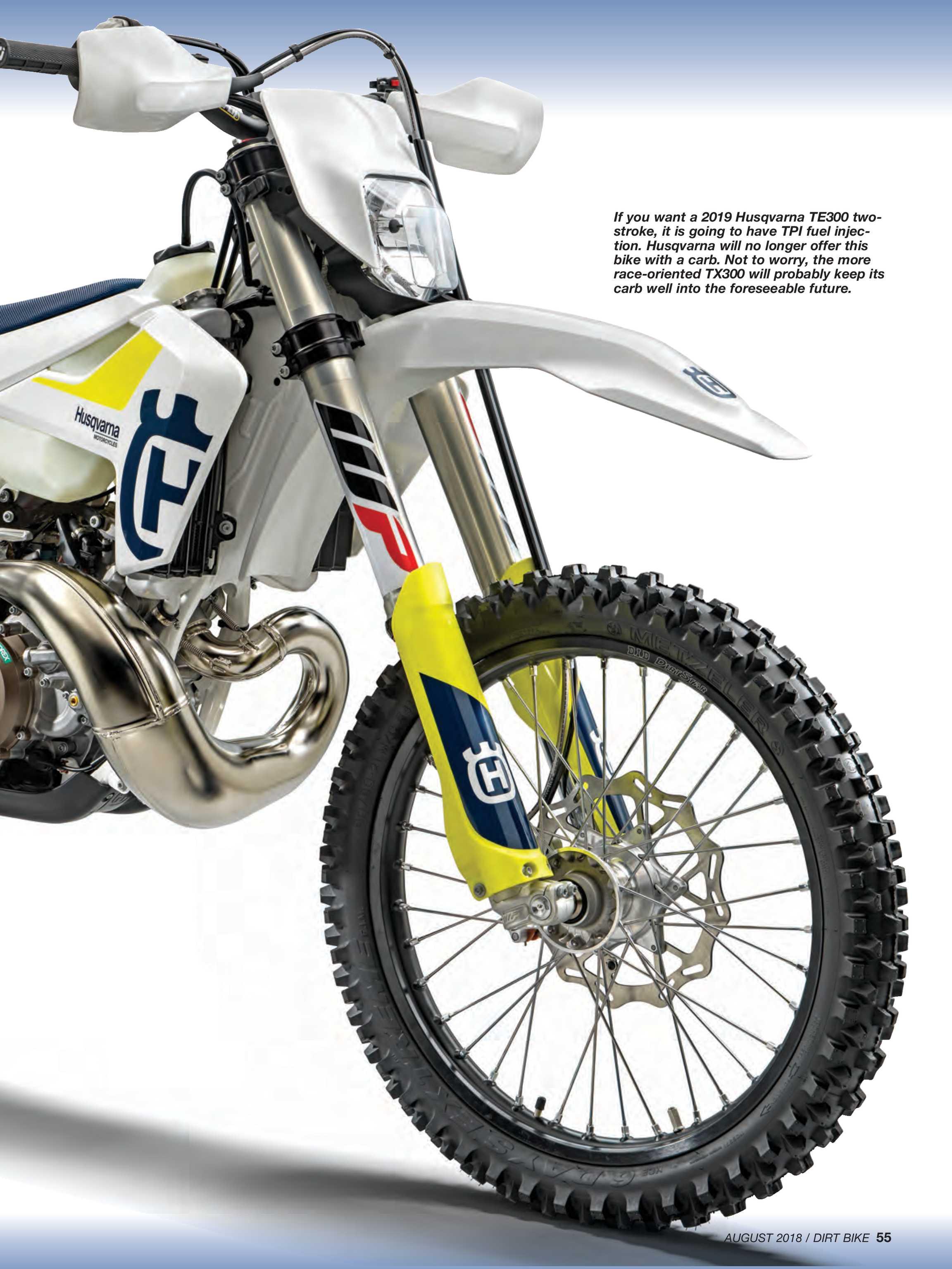 Dirt Bike Magazine - August 2018 - page 54