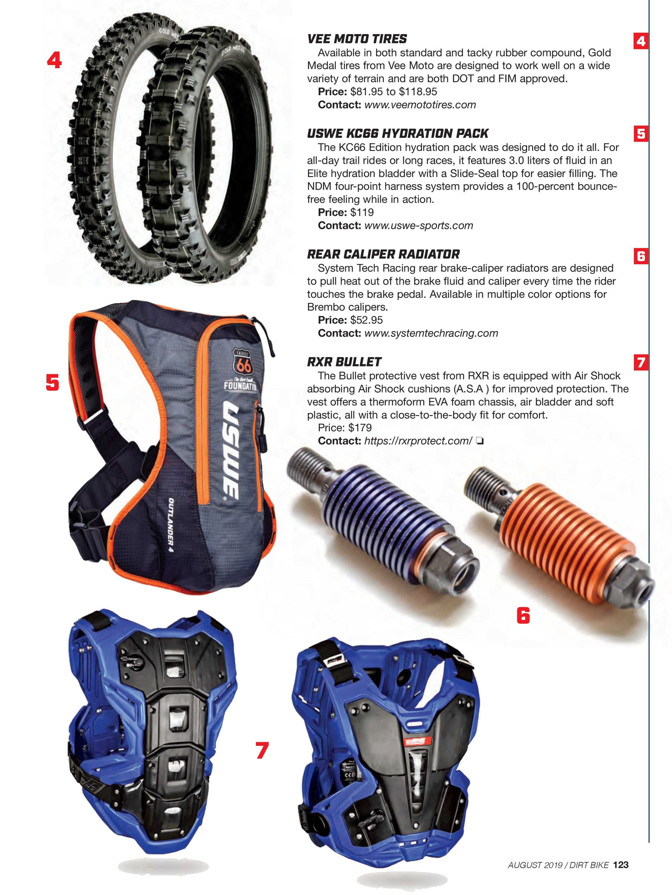 Dirt Bike Magazine - August 2019 - page 122
