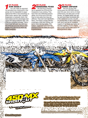 Dirt Bike Magazine - December 2017 - Page 68-69