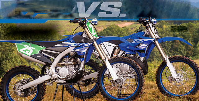 Dirt Bike Magazine - December 2018 Yamaha YZ250FX Vs  Yamaha