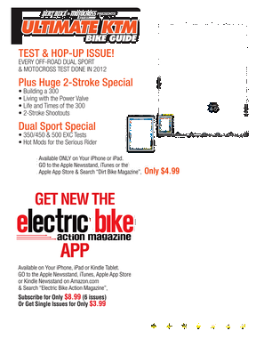 Dirt Bike Magazine - February 2014 - Page 72-73