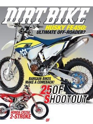 Dirt Bike Magazine - February 2016 - Front Cover