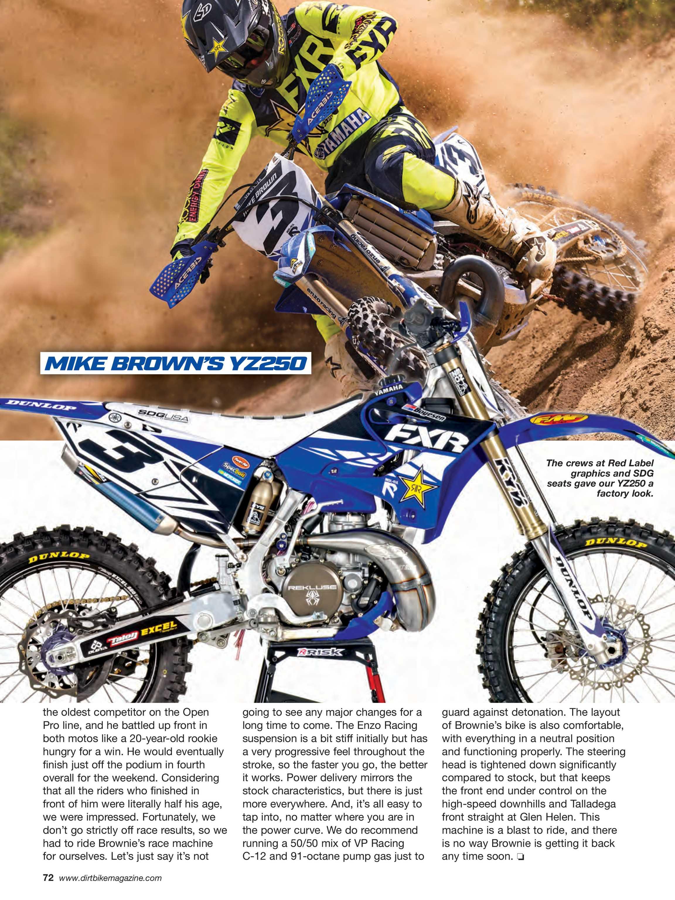 Dirt Bike Magazine - July 2019 - page 73