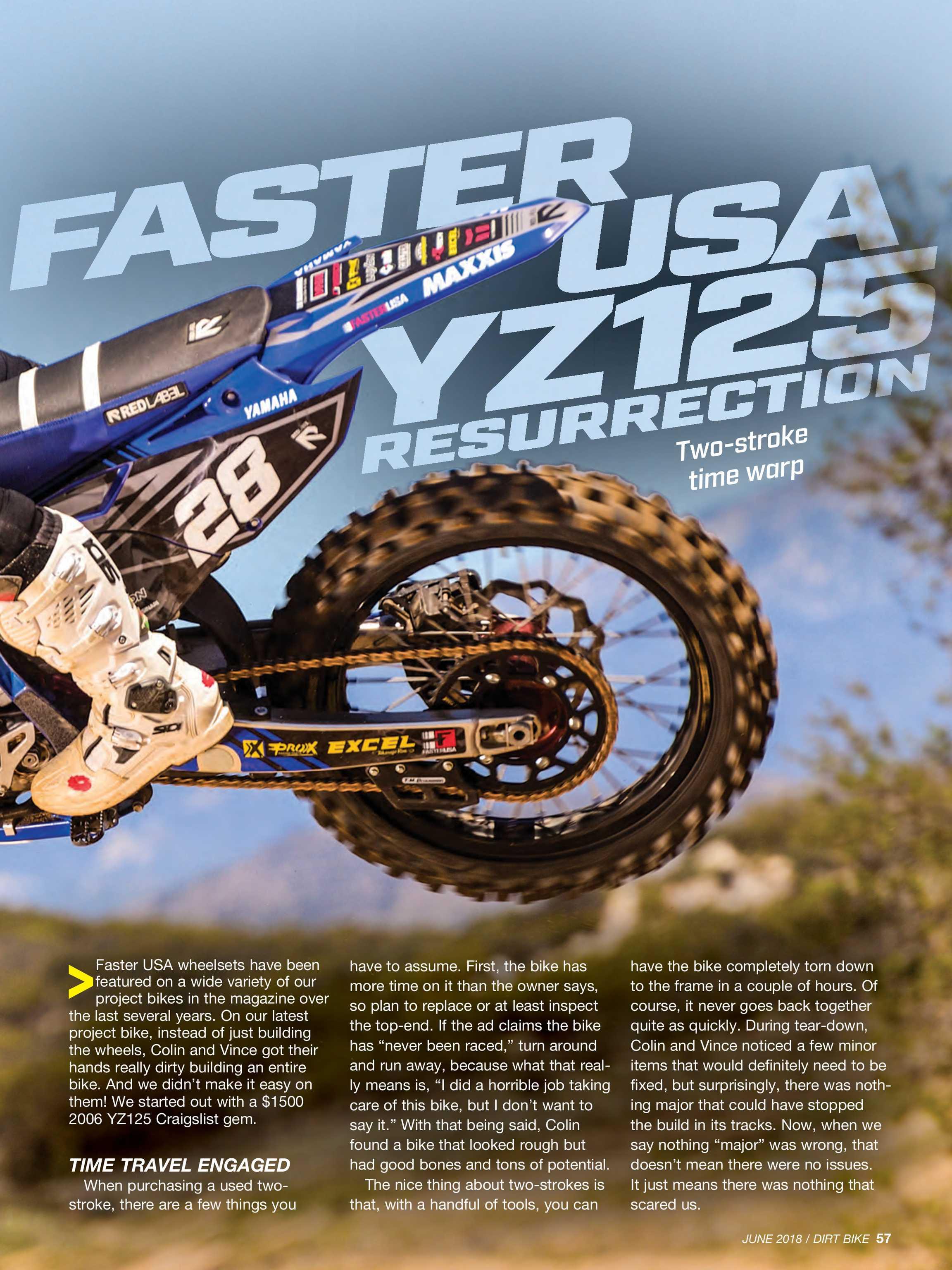 Faster Usa