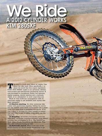 Dirt Bike Magazine - KTM Bike Guide