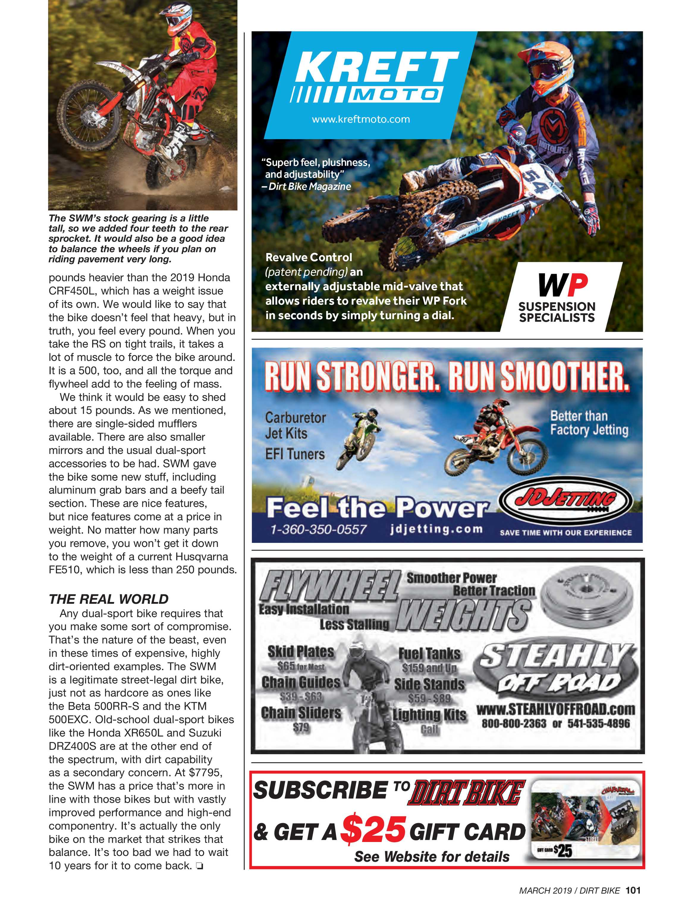 Dirt Bike Magazine - March 2019 - page 102