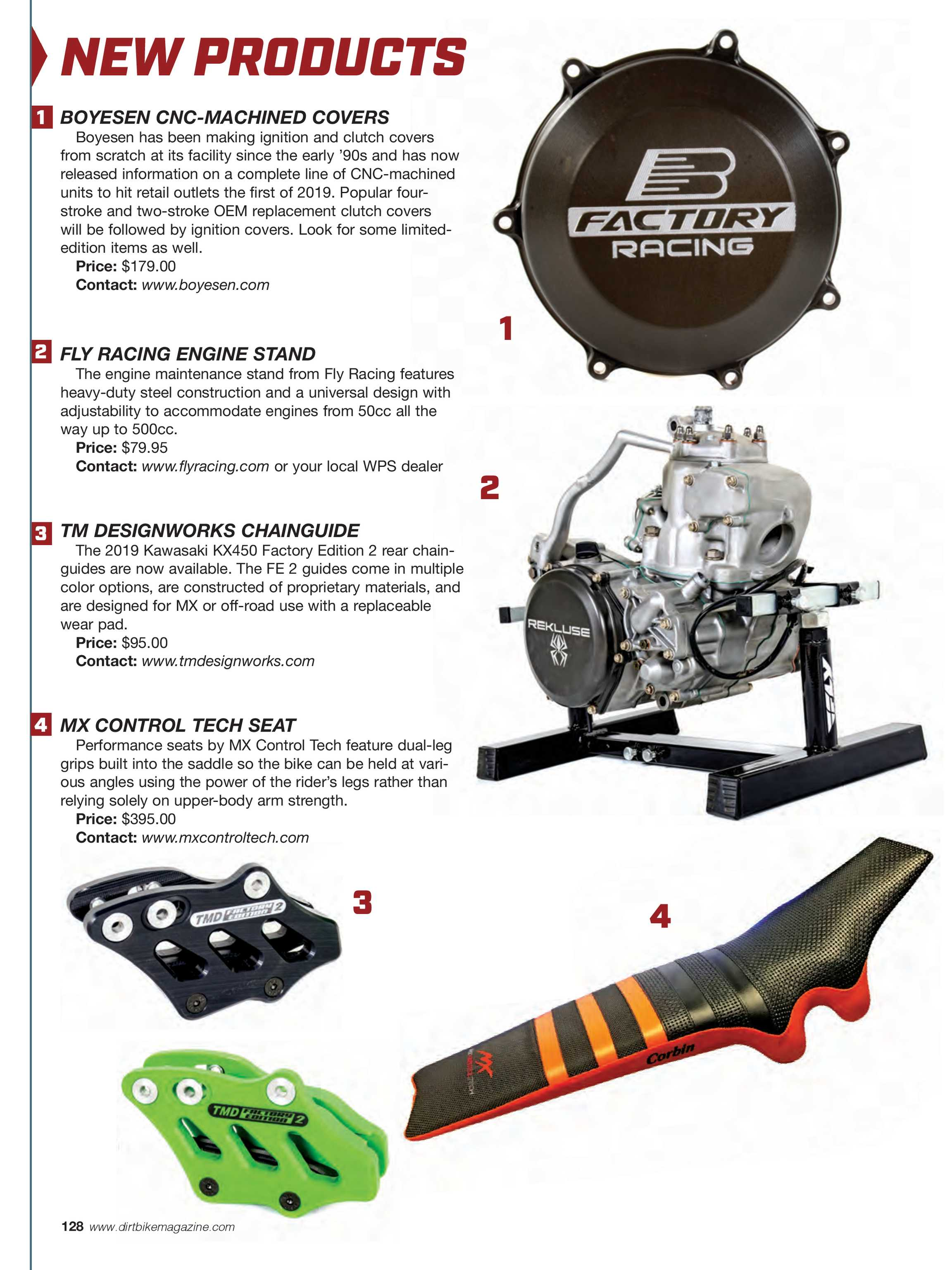 Dirt Bike Magazine - March 2019 - page 128