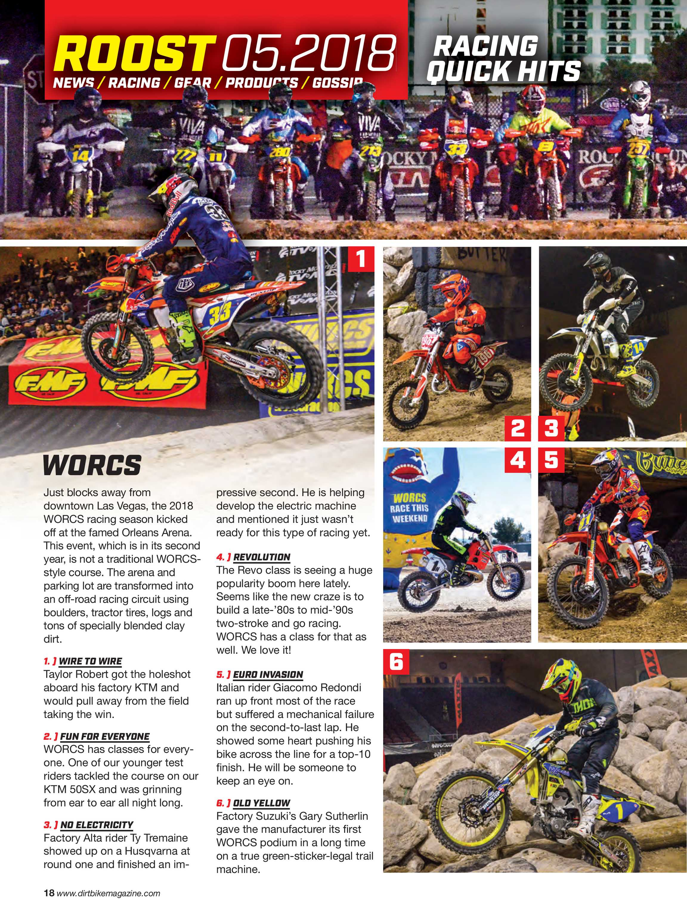 Dirt Bike Magazine - May 2018 - page 18