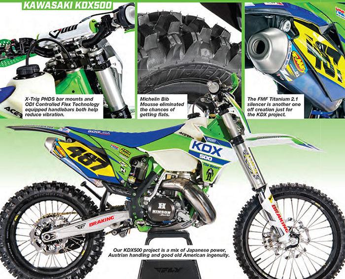 Dirt Bike Magazine - October 2018 - WPS KDX500