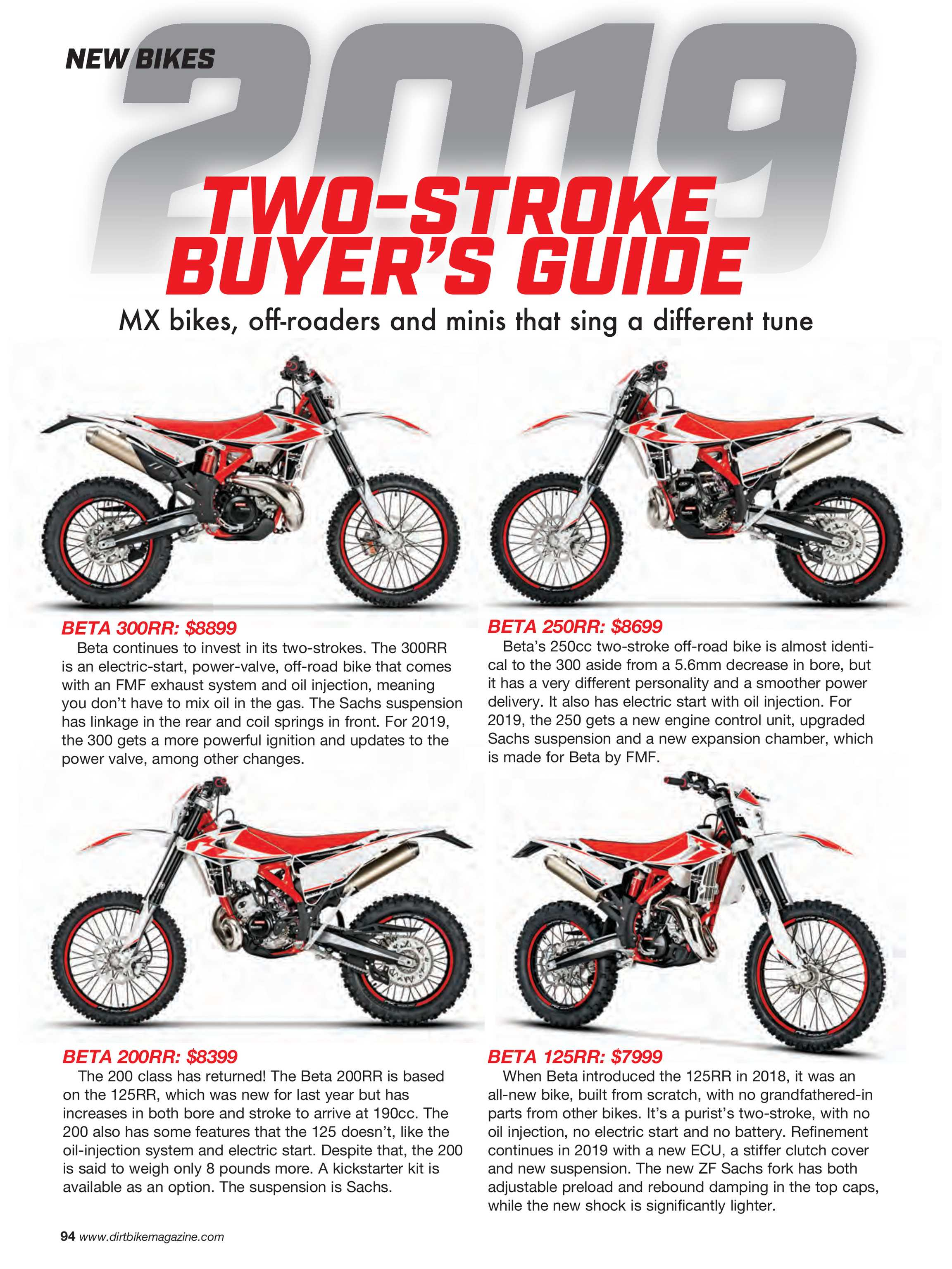 Dirt Bike Magazine - October 2018 - page 94