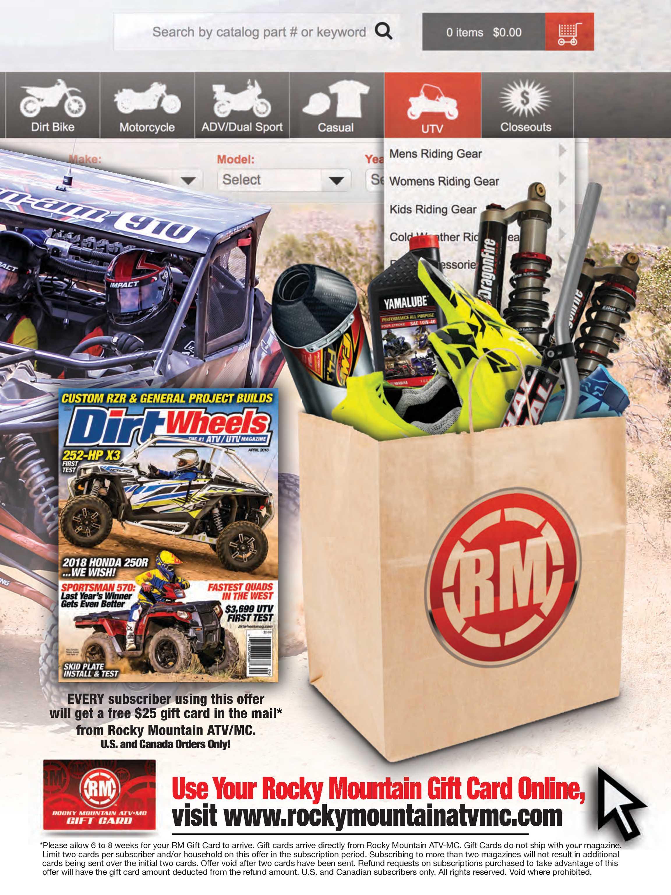 Dirt Wheels - April 2018 - page 18