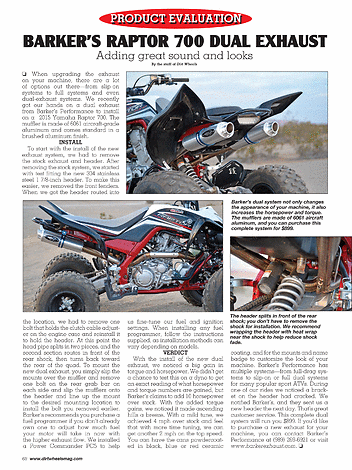 Dirt Wheels - AUGUST 2015 - Page 68-69