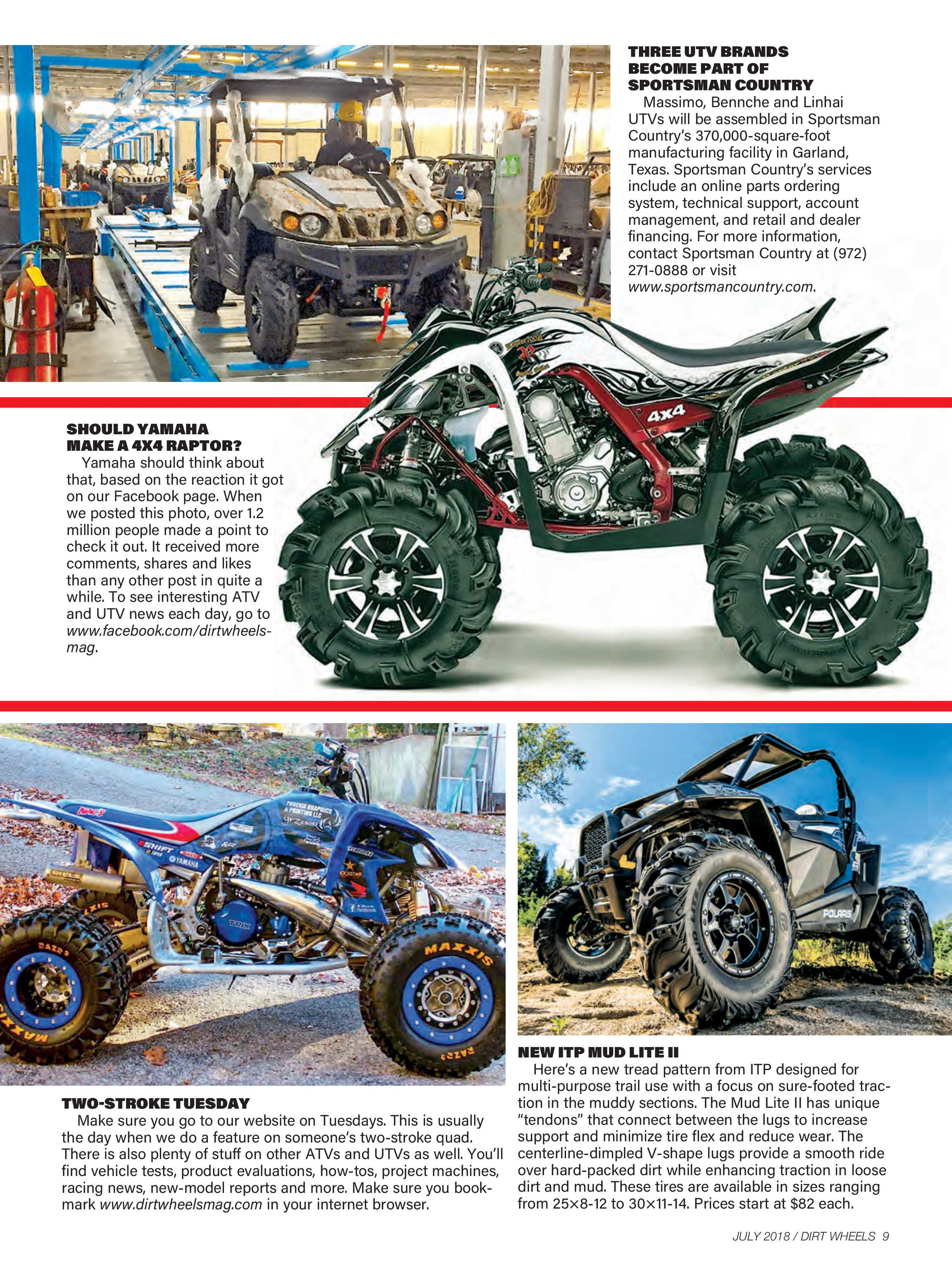 Dirt Wheels - July 2018 - page 8