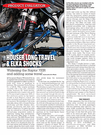 Dirt Wheels - Yamaha Raptor Special - Page 56-57