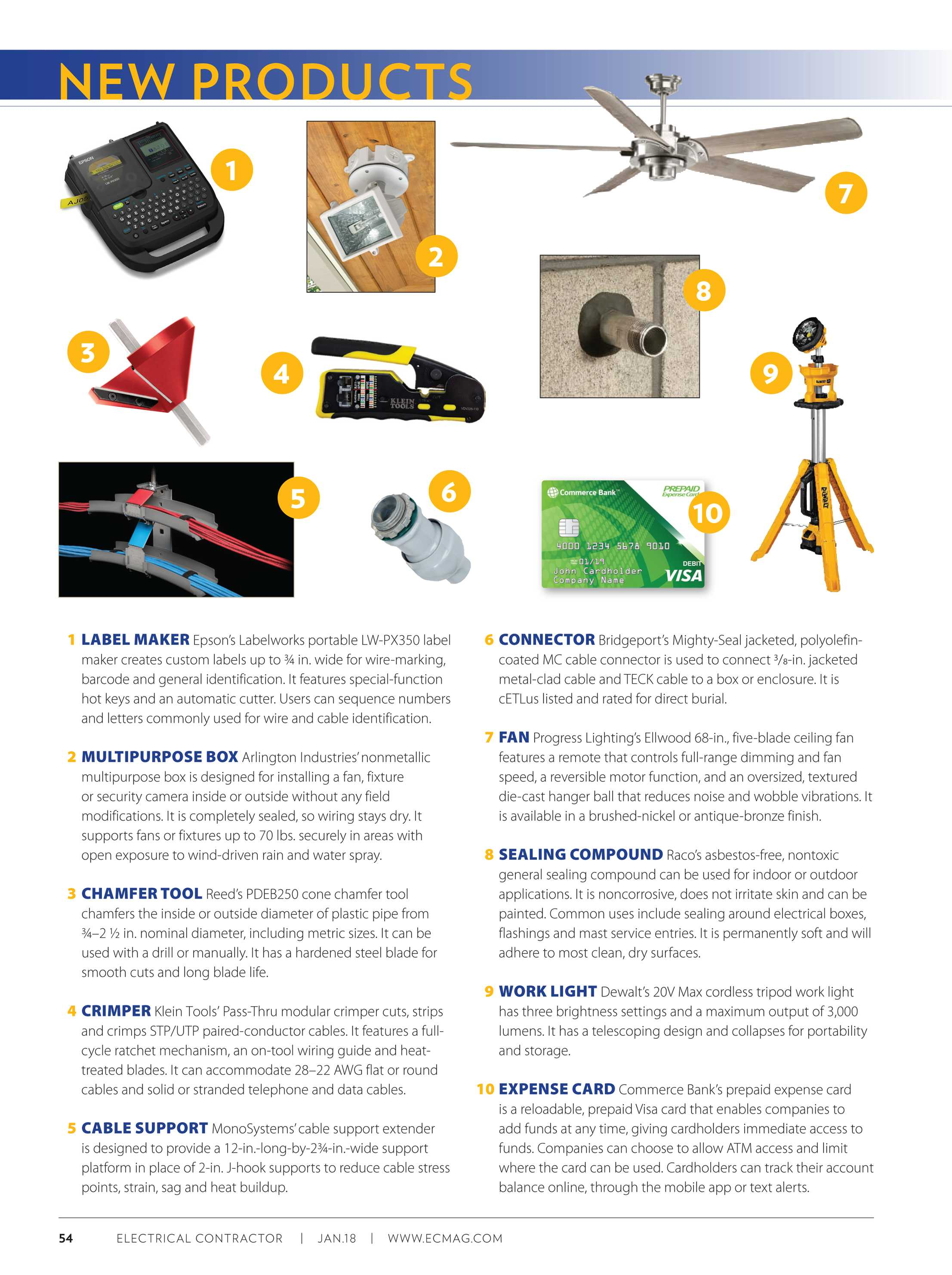 Electrical Contractor - July 2018 - page 54