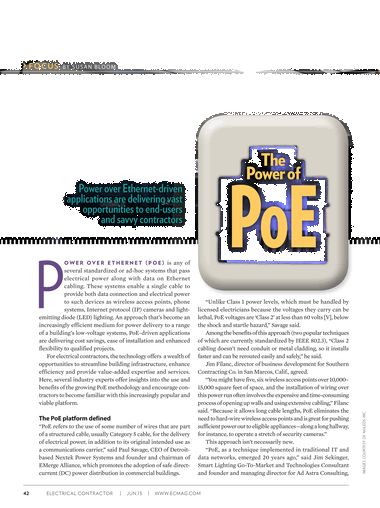 Electrical Contractor - June 2015 - Page 42-43
