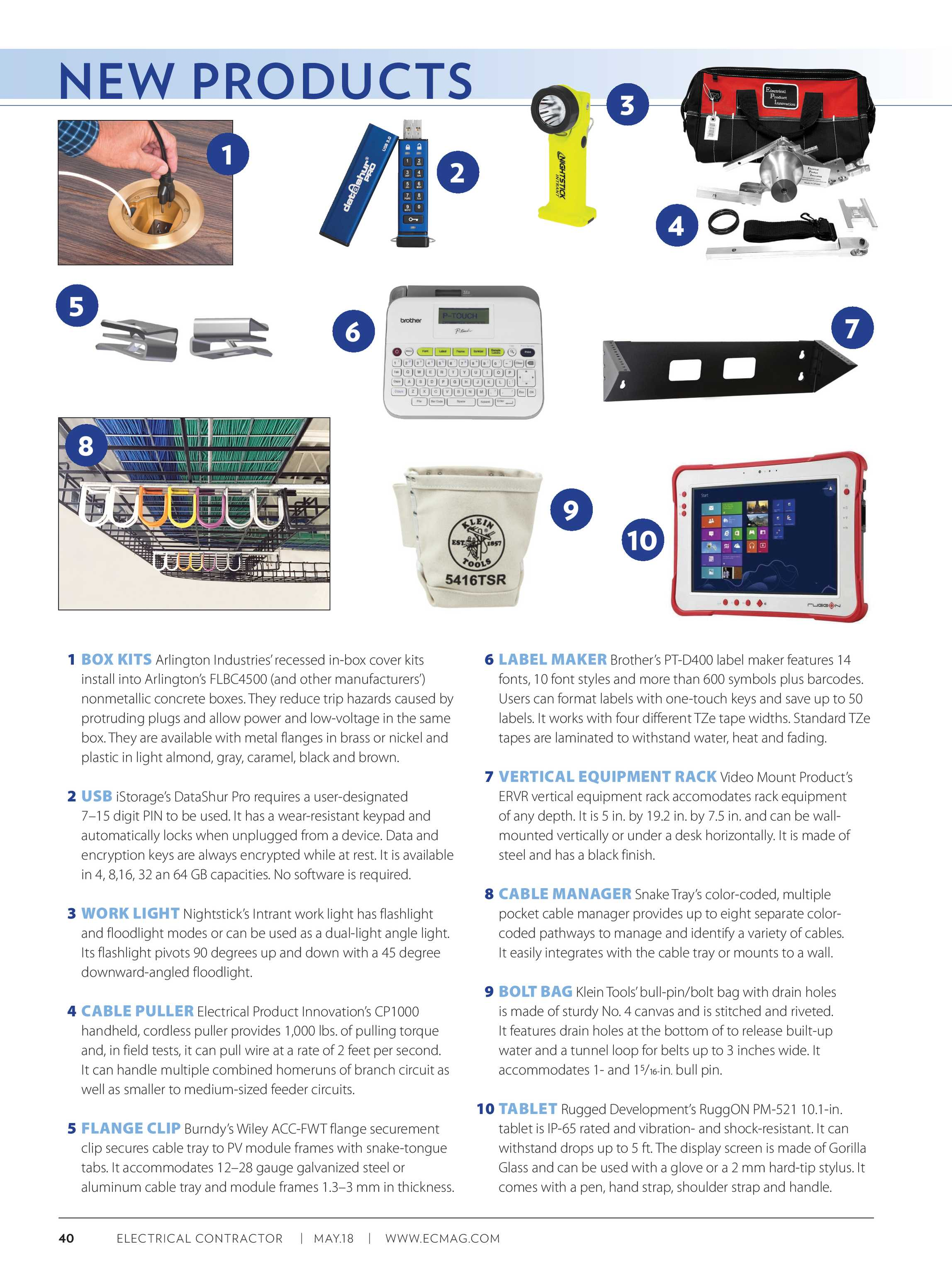 Electrical Contractor - May 2018 - page 40