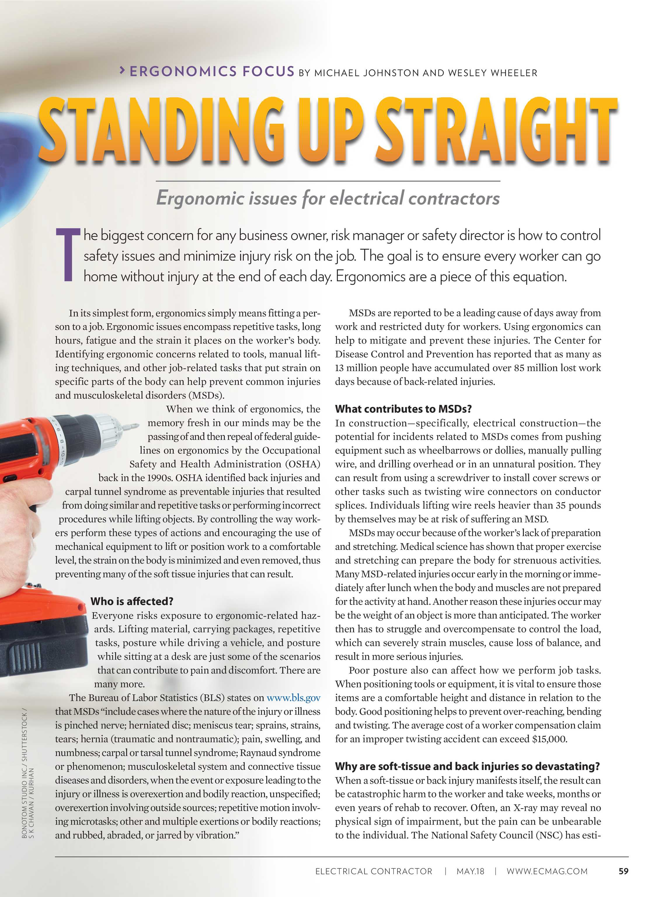 Electrical Contractor - July 2018 - page 60