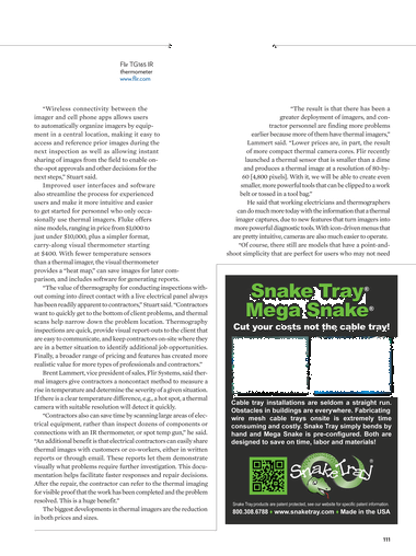 Electrical Contractor - November 2014 - Page 110-111