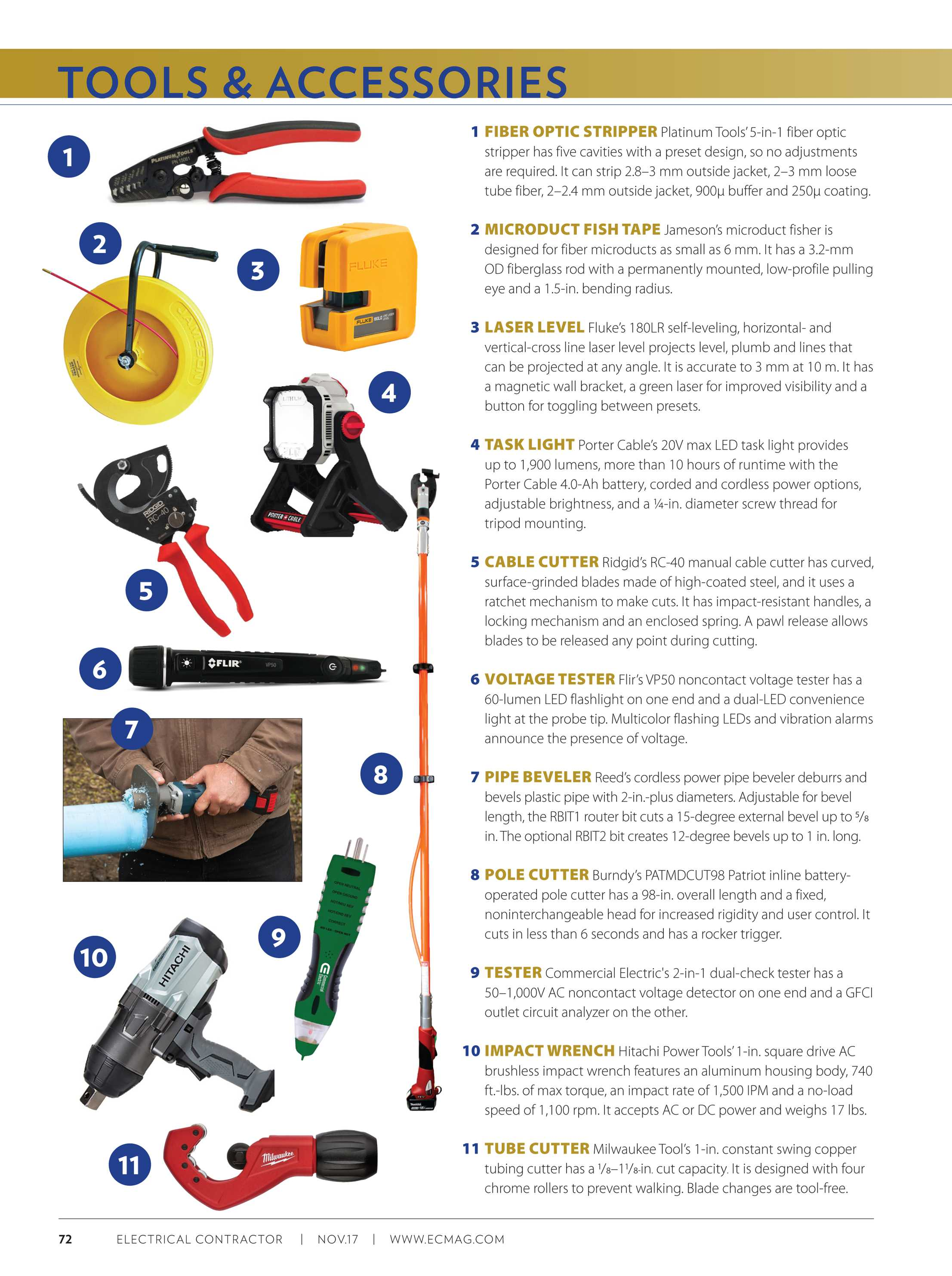 Electrical Contractor - November 2017 - page 72