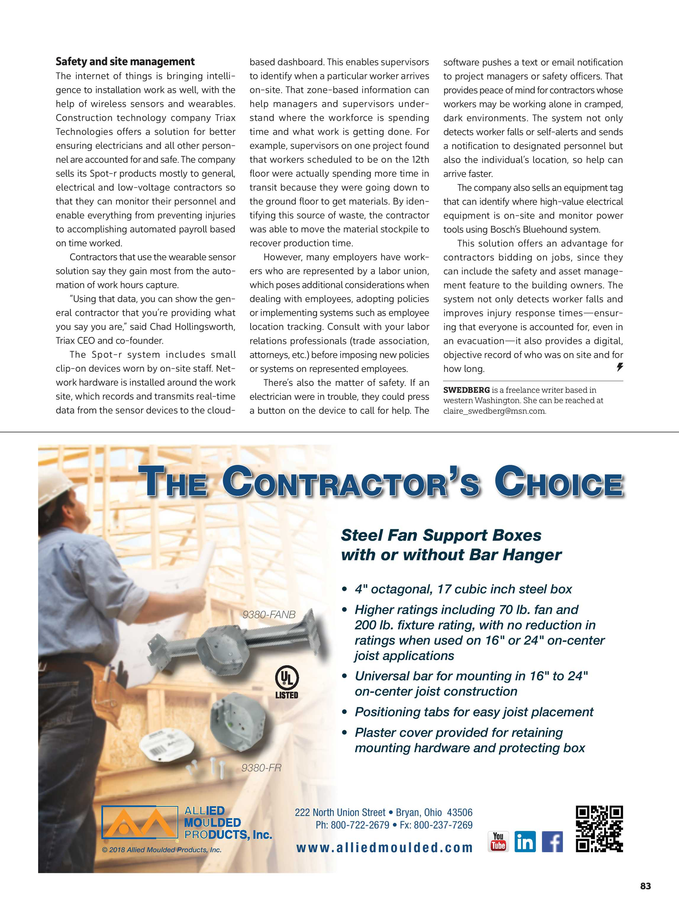 Electrical Contractor - September 2018 - page 84