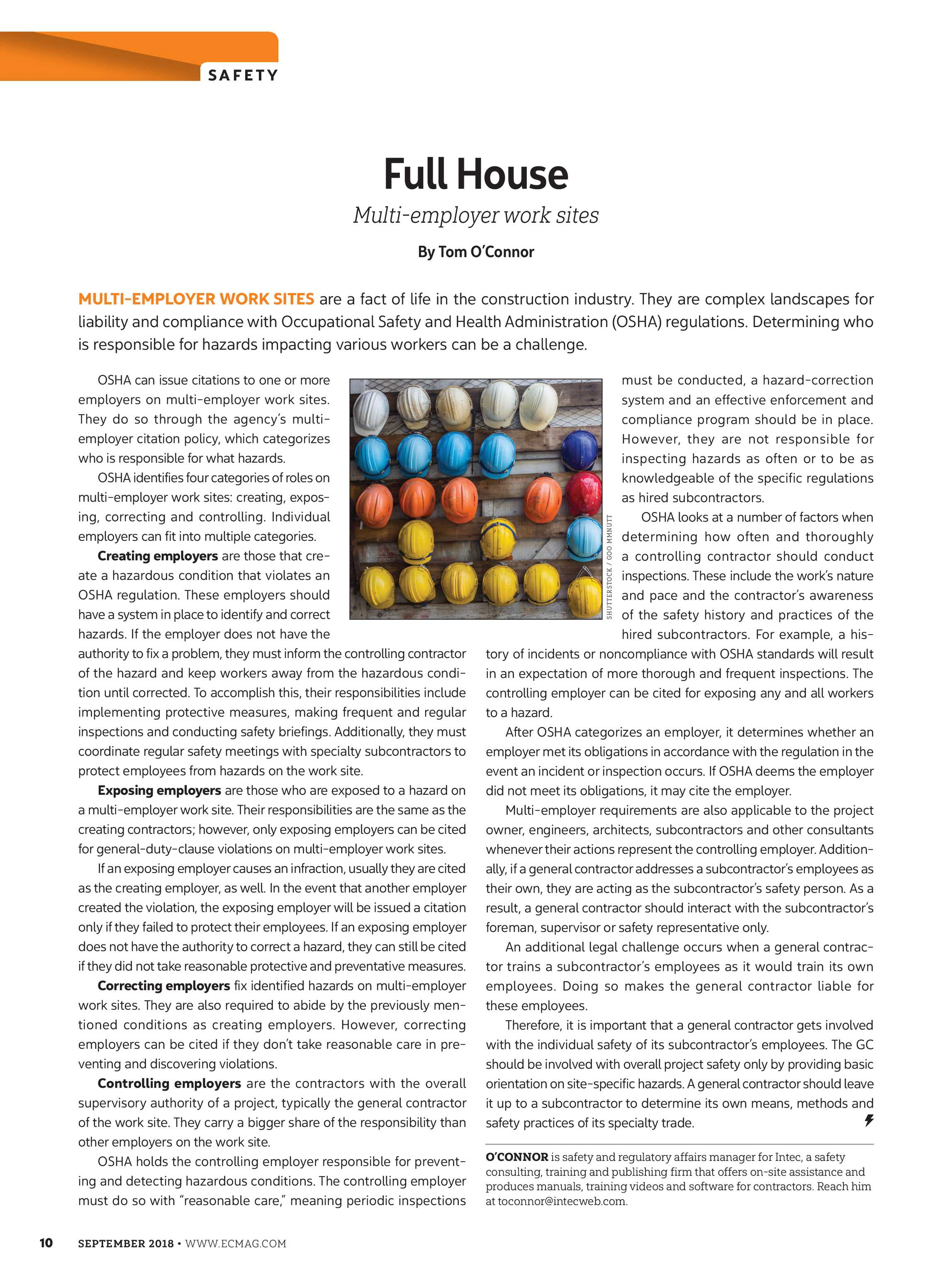 Electrical Contractor - September 2018 - page 10