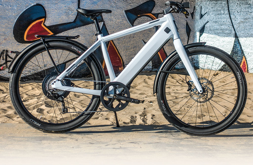 Electric Bike Action - December 2018 - 2019 Stromer ST3