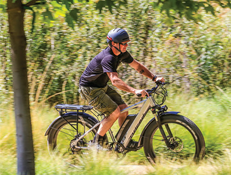 Electric Bike Action - October 2018 - Juiced Bikes Ripcurrent S