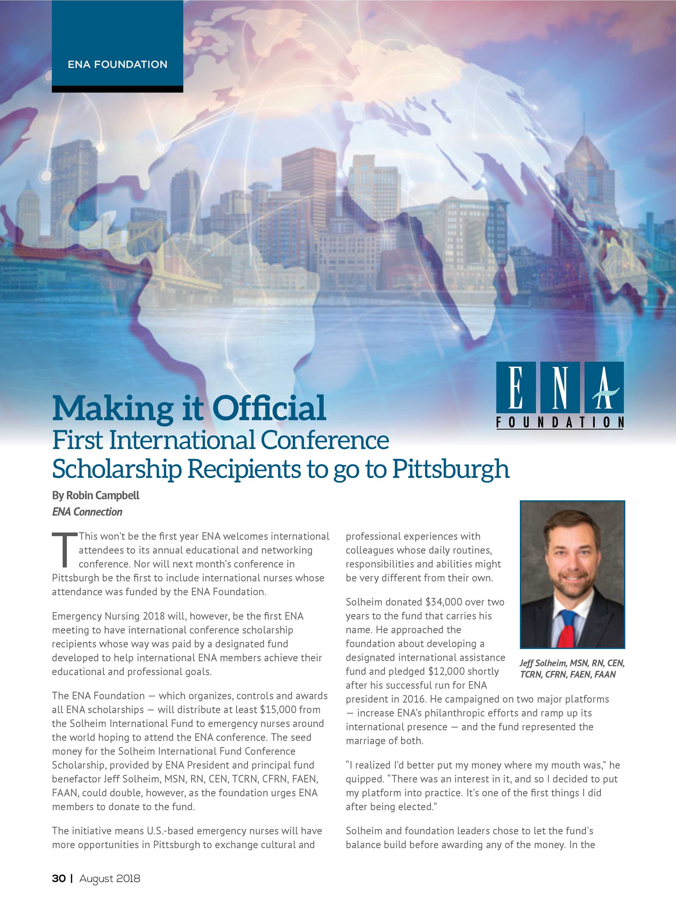 Ena Connection August 2018 Page 30