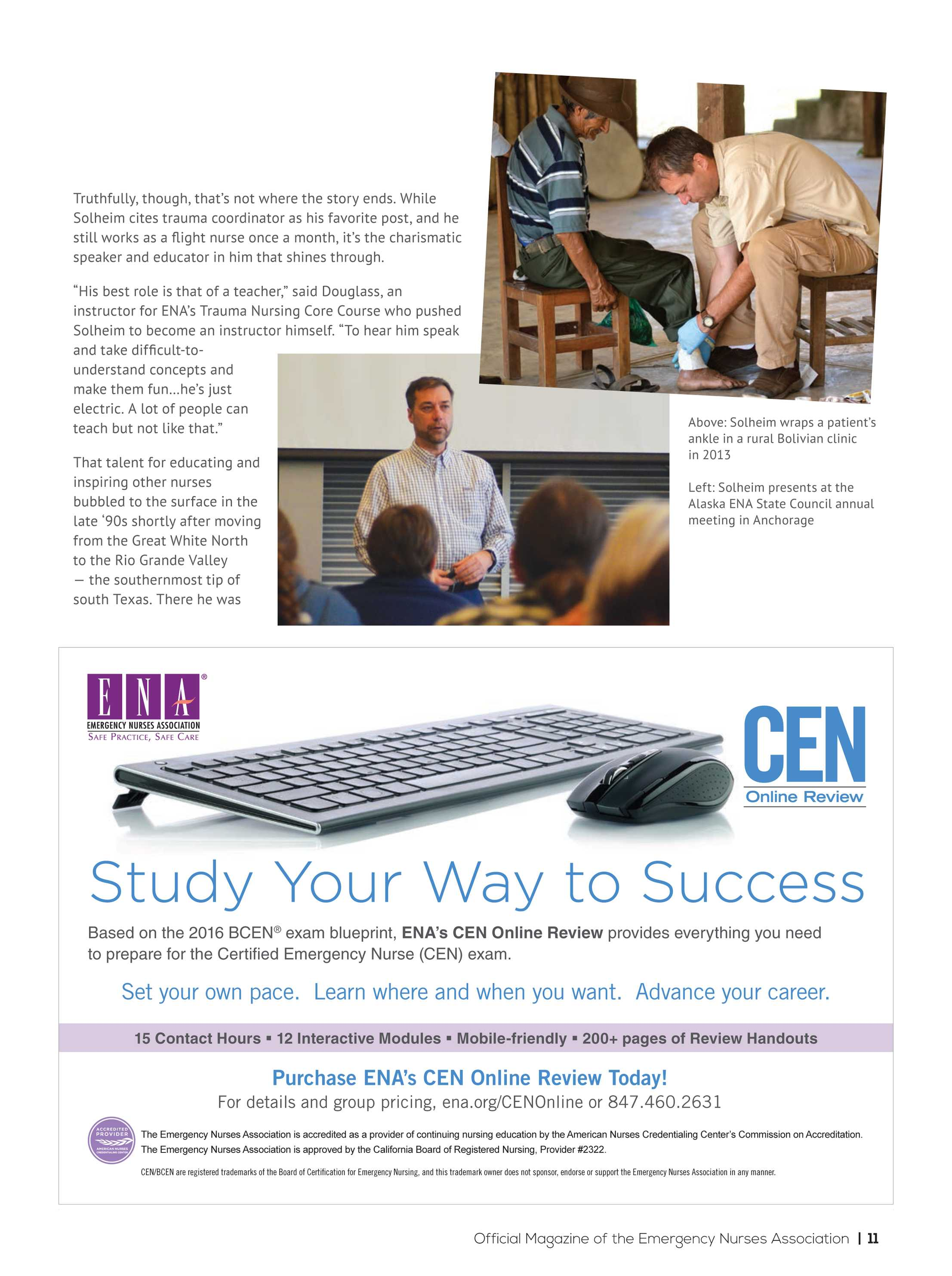 ENA Connection - January 2018 - page 12