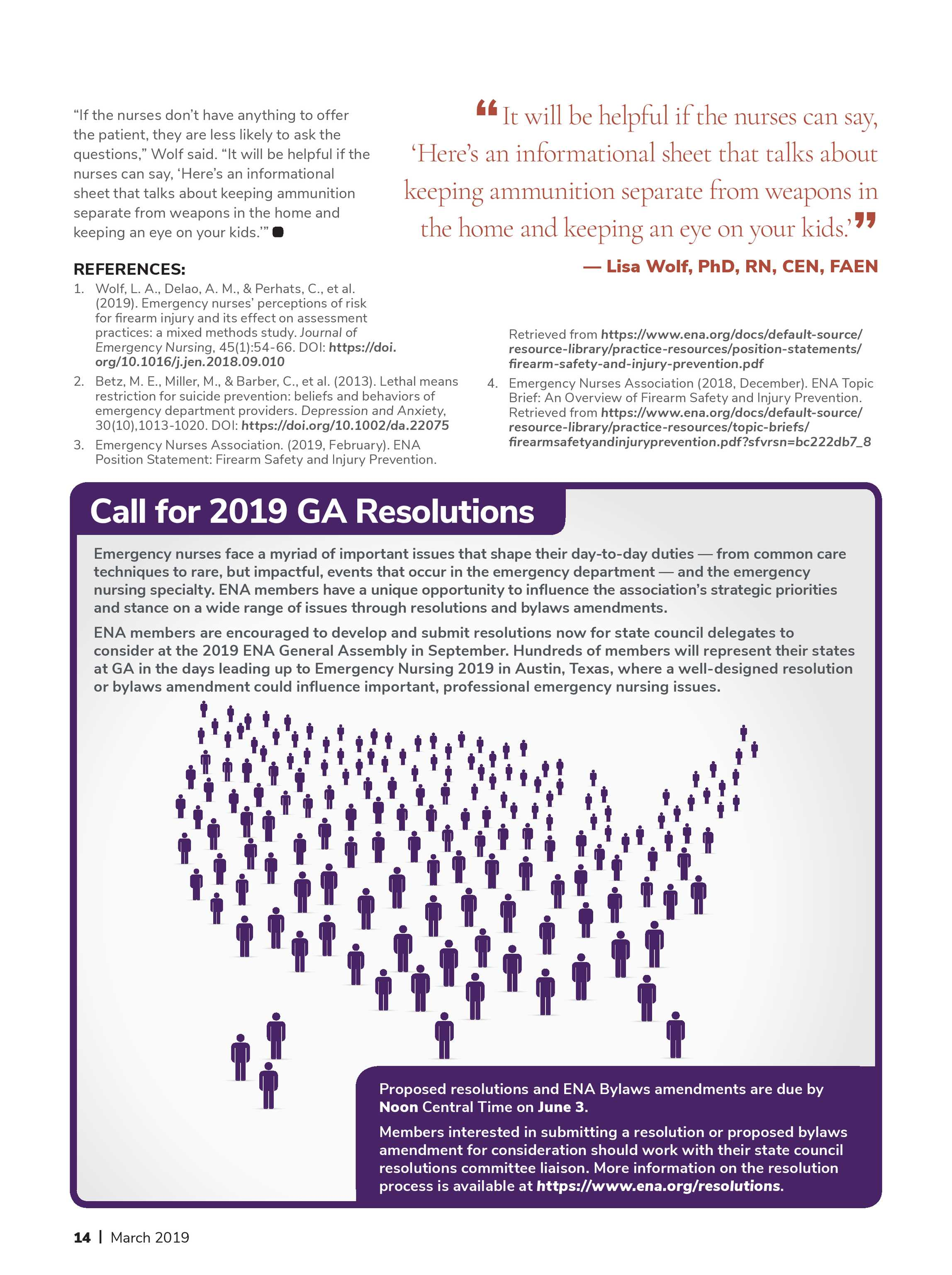 ENA Connection - March 2019 - page 14