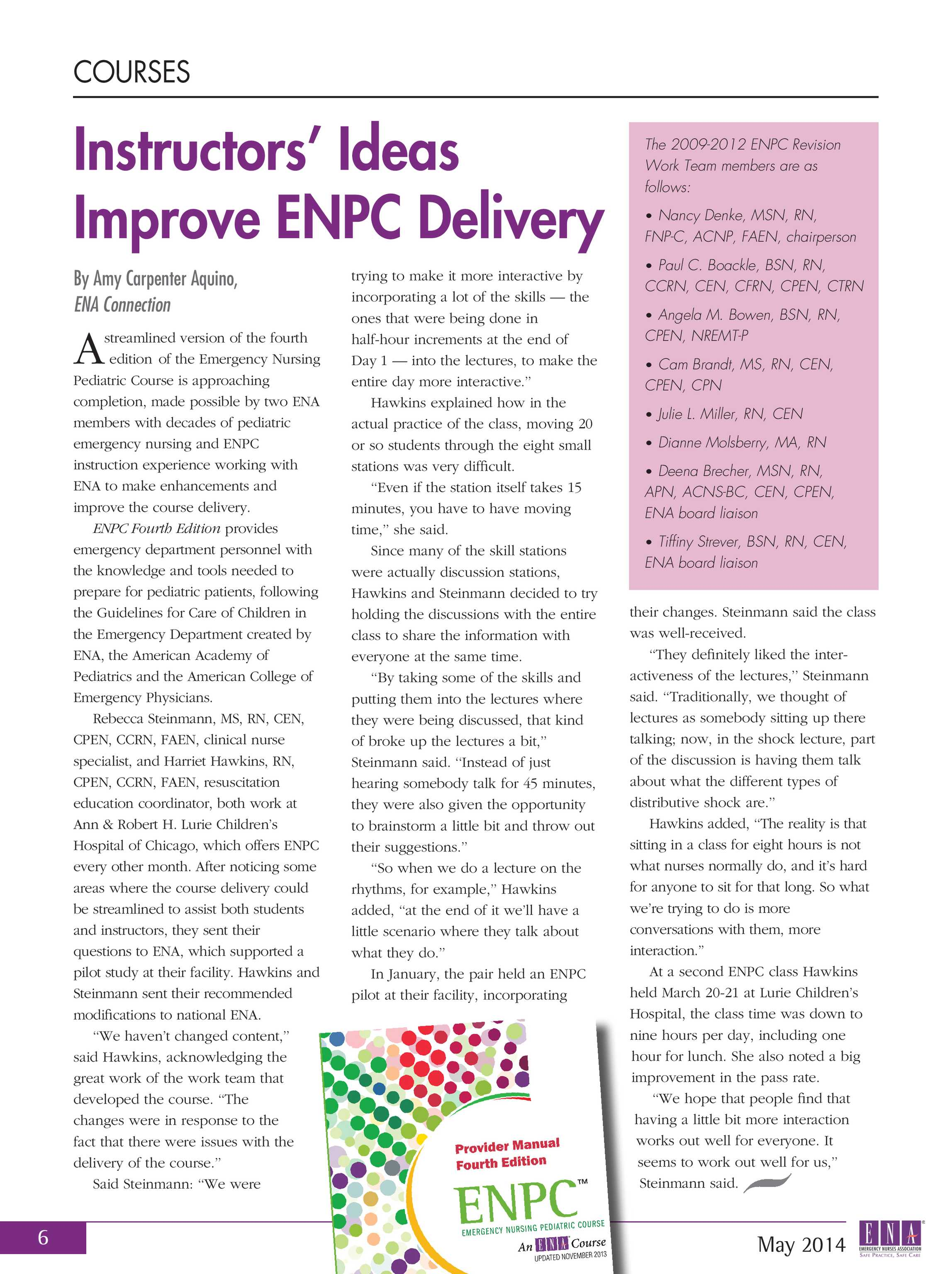 ENA Connection - May 2014 - page 6
