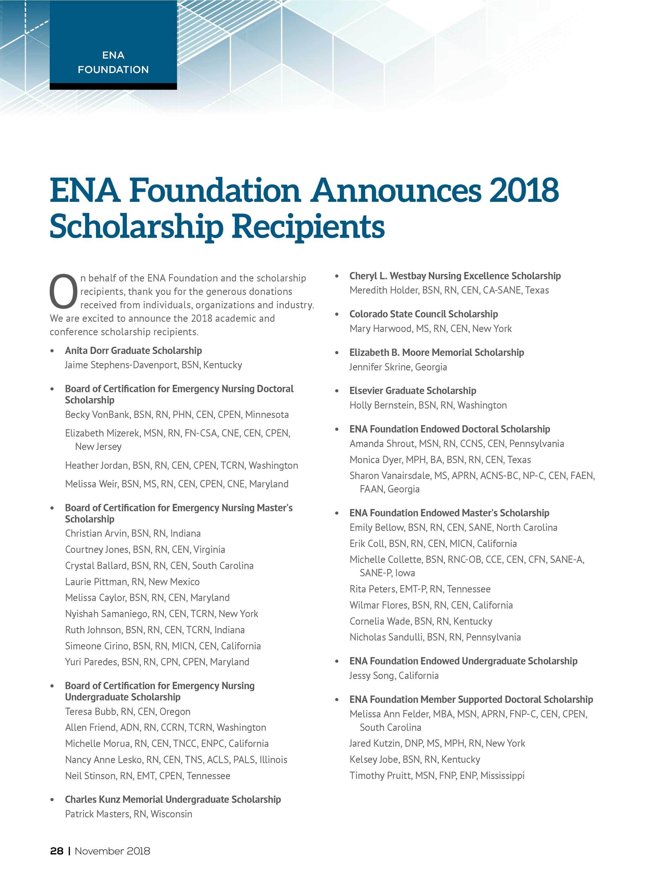 Ena Connection November 2018 Page 28