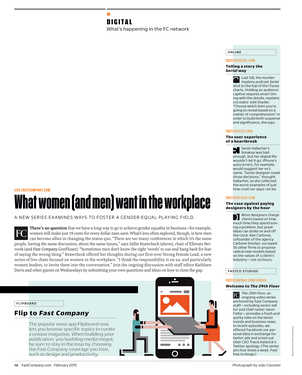Fast Company - February 2015 - Page 14-15
