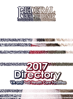 Federal Practitioner - 2017 Directory - Front Cover