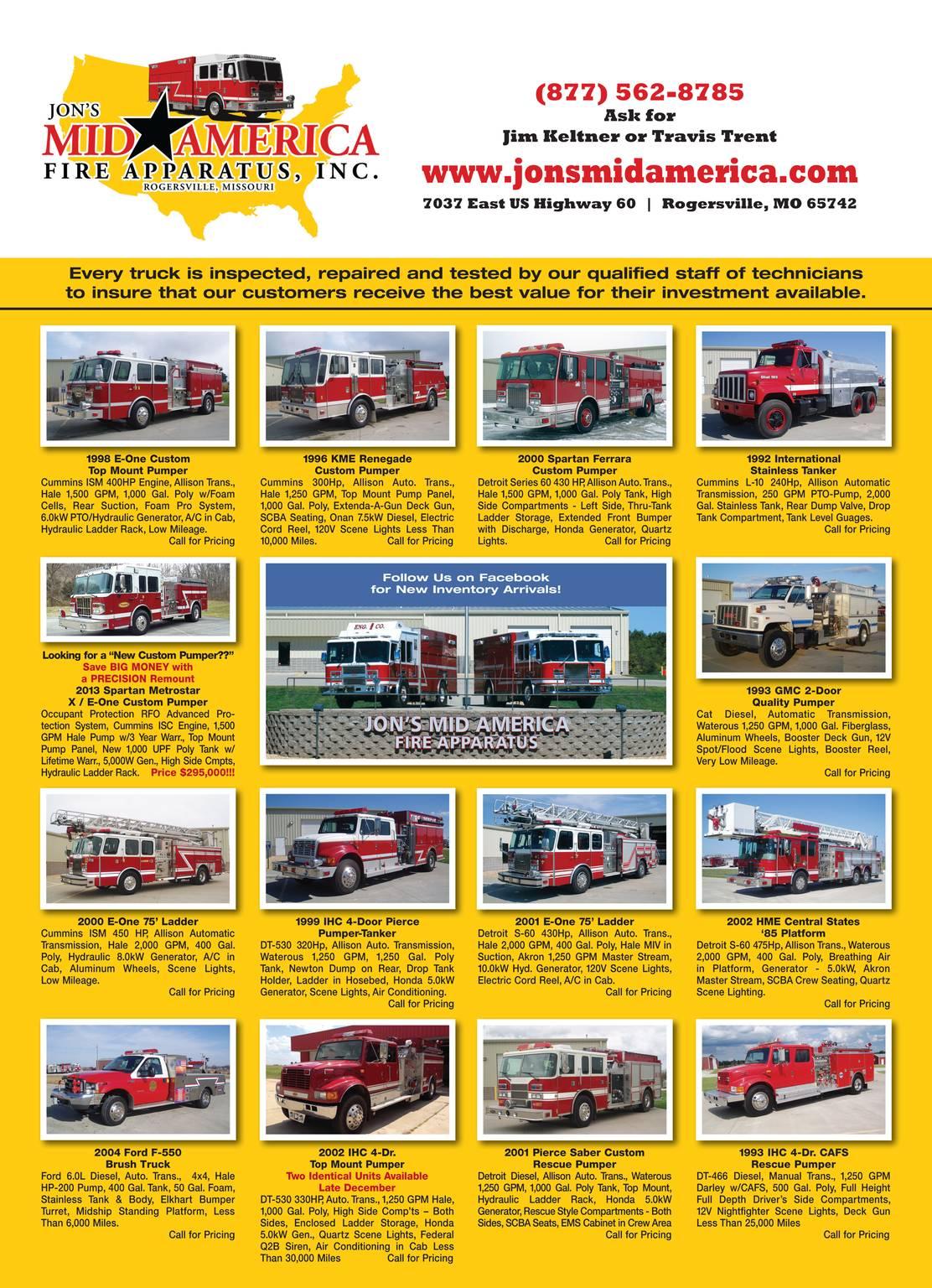 Fire Apparatus Magazine - November 2013 - page 46